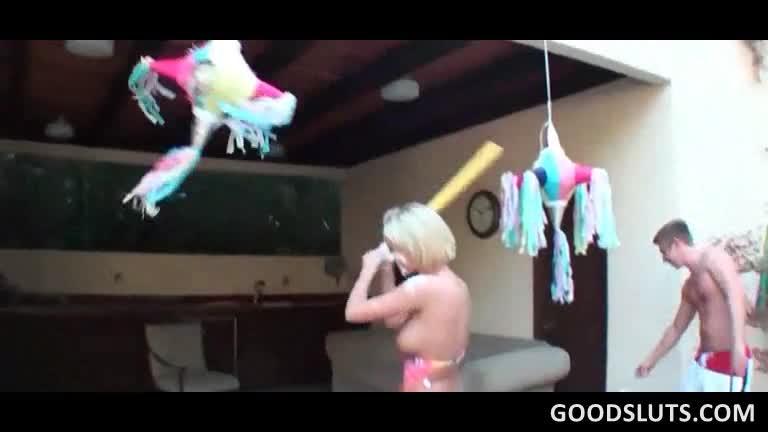 piscine Party vidéo de sexe noir coq putain de gros cul