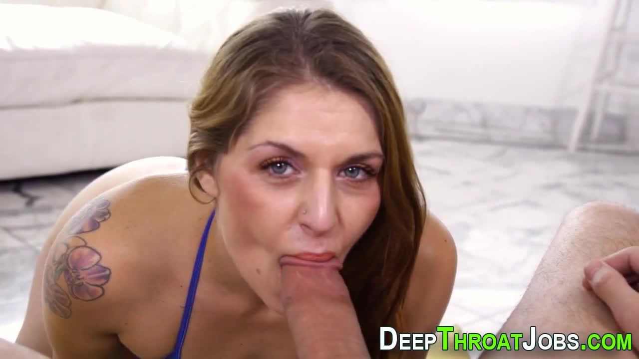 Blondine Milf Deepthroat Pov
